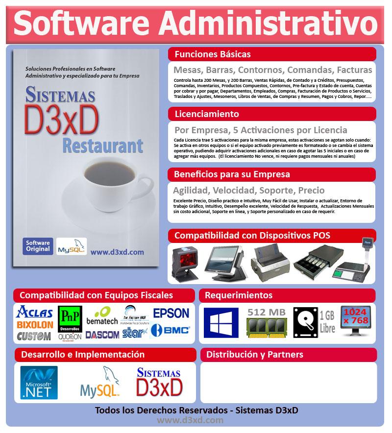 Sistemas D3xD - Software Administrativos y Especializados para ...